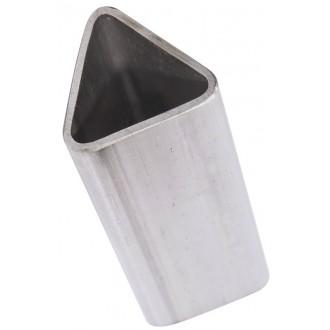 """Труба сталева трикутна в наявності на """"Самой полезной металлобазе"""" / Поріжемо, завантажемо і доставимо в будь-яке місто України"""